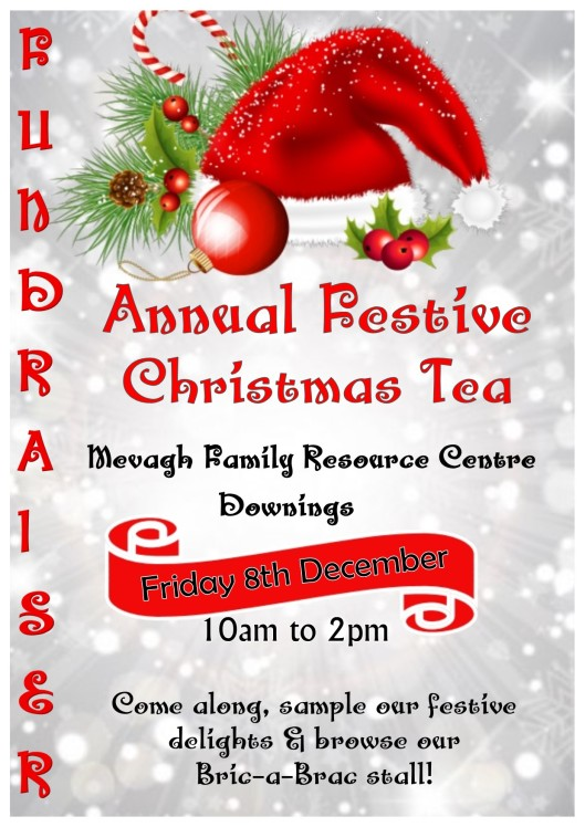 Mevagh Family Resource Centre - Festive Christmas Tea